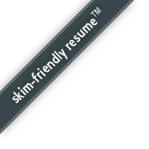 skim-friendly resume
